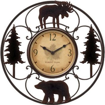 Wildlife Wire Clock : Cabela's