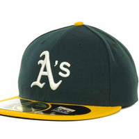 Oakland Athletics MLB Authentic Collection 59FIFTY