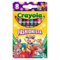 Crayola 8ct Pick your Pack Fashionista Crayons