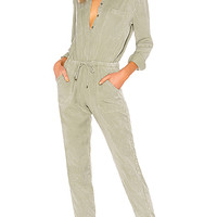 EVEREST JUMPSUIT IN SAGE AW