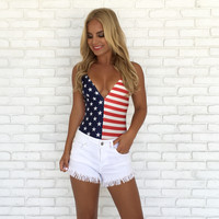 Star Spangled Banner Bodysuit