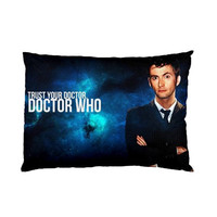 David Tennant Dr Who Tardis New Pillow Cover Case Collection