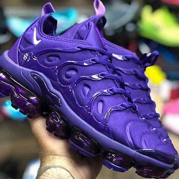 Nike Air Max Vapormax Plus TN Vascular Atmospheric Cushion Men's and Women's Casual Sports Shoes 7