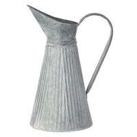 18-inch x 12-inch Galvanized Pitcher with Handle (Pack of 2) | Overstock.com Shopping - The Best Deals on Accent Pieces