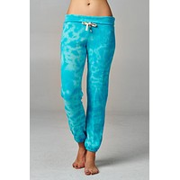 Women's Printed Tie Dye Foldover Waistband French