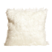 Faux-fur Cushion Cover - from H&M
