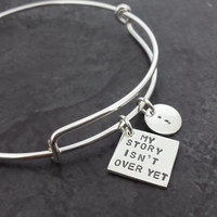 My Story Isn't Over Yet Expandable Bangle