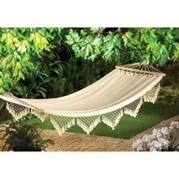 Comfortable Cape Cod Canvas Hammock