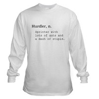 Hurdler Long Sleeve T-Shirt on CafePress.com