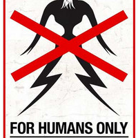 District 9 For Humans Only Movie Poster 11x17