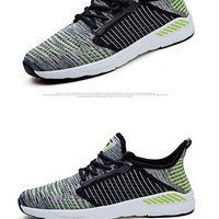 Hot Sale Running Shoes For Men Lace-up Athletic Trainers Zapatillas Sports Shoes Outdoor Walking Sneakers Cheap Running Shoes