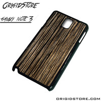 Wood Texture Black Case For Samsung Galaxy Note 3 Case