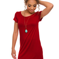 Shop Priceless Lyla Dress - Rust