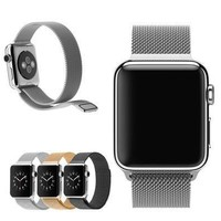 38mm 42mm Milanese Magnetic Loop Stainless Steel Watch Band Strap For Apple Watch [9305800583]