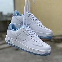 Nike Air Force 1 Low 07 low-top sky blue sneakers shoes