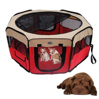 Hot Pet House Tent Foldable Extra-large Space Tent Bed Playpen for Pet Puppy Dogs Cats Waterproof Exercise House Kennel