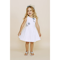 Monnalisa - Girl Mademoiselle Butterfly Dress