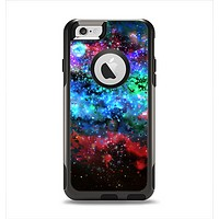 The Neon Colored Paint Universe Apple iPhone 6 Otterbox Commuter Case Skin Set