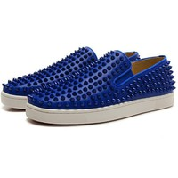 Christian Louboutin Women Men Fashion Casual Sneakers Sport Shoes-11