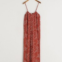 Blossom Jumpsuit, Red