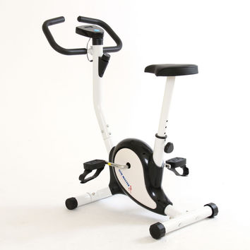 Gym Master Exercise Bike Fitness & Cardio Workout with Adjustable Resistance