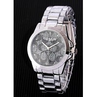 COACH Tide brand men and women models simple versatile watch 3