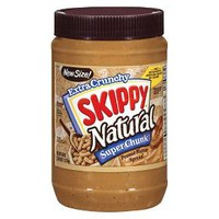 Skippy Natural Super Chunky Peanut Butter Spread 40 oz