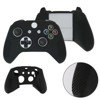 4 Colors soft silicone Rubber Skin Protective Case Cover for Microsoft Xbox One S Control L3FE
