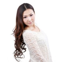 """23"""" Clip in HOT Synthetic Curly Hair Extensions with 2 Clips - 3 Colors Available Ch015"""