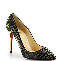 Christian Louboutin - Beaded Leather Pumps - Saks Fifth Avenue Mobile