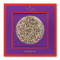 kate spade new york Glitter Coaster Set