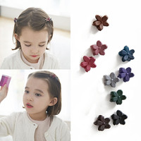Small Flower Baby Kids Hair Clips New Hair Claws Lovely For Child Cute Hair Accessories Fashion For Student