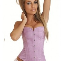 Purple Strapless Suede Corset Intimates @ Amiclubwear Intimates Clothing online store:Lingerie,Corset,Bustier,Women's Intimates,Sexy Intimate,Corset Intimates,intimates underwear,sheer intimates,silk intimates,intimates bras,holiday underwear,garter belts