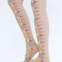 Free People Aztec Tall Sock at Free People Clothing Boutique