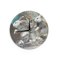 """Suzanne Carter """"Space Travel"""" Wall Clock"""
