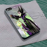 Maleficent Disney For - iPhone 4 4S iPhone 5 5S 5C and Samsung Galaxy S3 S4 S5 Case