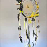 Dream catcher, bohemian dream catcher,zodiac dream catcher, steam punk, gift for her, for him