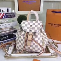 LV Louis Vuitton WOMEN'S MONOGRAM LEATHER BACKPACK BAG
