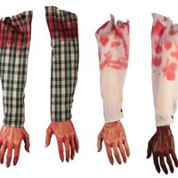 Fun World 8459ACE Halloween Bloody Arm and Hand Decoration