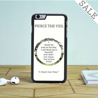 pierce the veil song lyrics iPhone 6 Plus iPhone 6 Case
