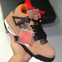 Trendsetter Air Jordan 4 Women Men Fashion Casual Sneakers Sport Shoes