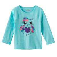 Jumping Beans Graphic Tee - Baby Girl, Size: