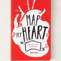 Map My Heart: Your Love Life In Doodles By Dominic Evans