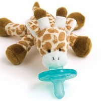 Wubbanub Infant Plush Toy Pacifier Giraffe