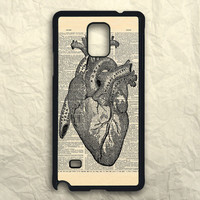 Dictionary Heart Anatomy Samsung Galaxy Note 3 Case