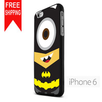 Minion Batman Dark Knight Cute TMN iPhone 6 Case