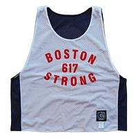 Boston Strong 617 Sox Color-way Larosse Pinnie