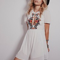 Free People Womens Garden Blooms Dress