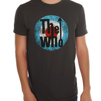 The Who Distressed Target T-Shirt