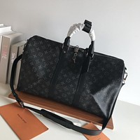 LV Louis Vuitton MONOGRAM CANVAS KEEPALL 45 HANDBAG SHOULDER BAG TRAVEL BAG